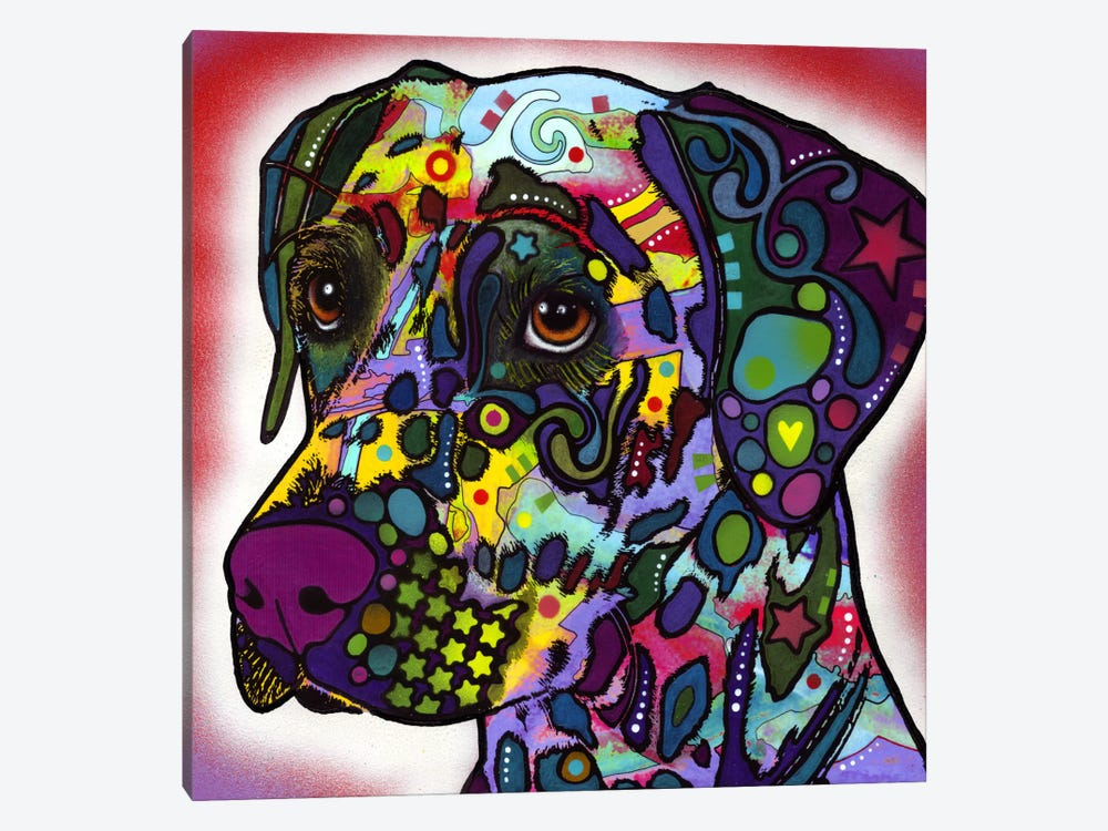 dalmatian by dean russo 1piece canvas wall art - Dean Russo