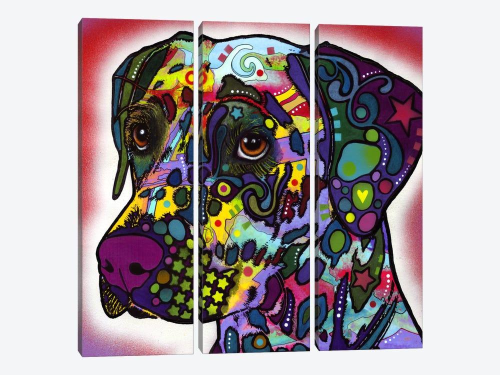 Dalmatian by Dean Russo 3-piece Canvas Art