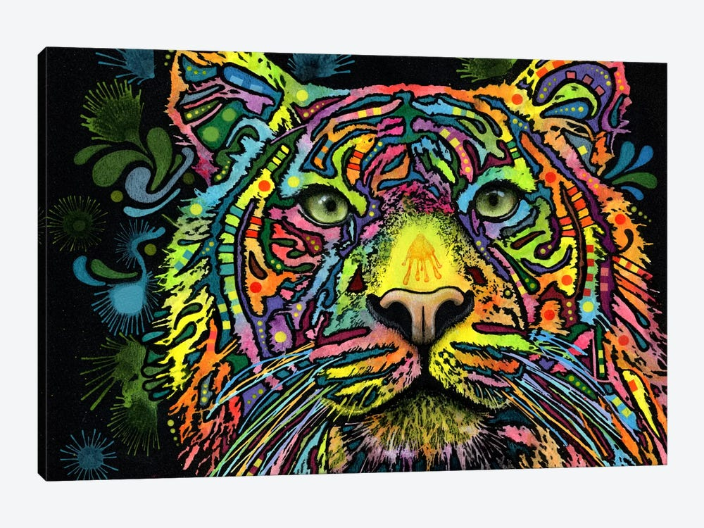 Tiger by Dean Russo 1-piece Canvas Art