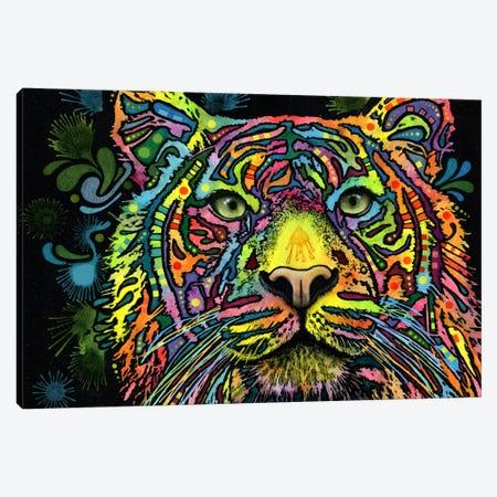 Tiger Canvas Print #13548} by Dean Russo Art Print