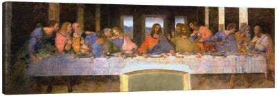 The Last Supper by Leonardo da Vinci Canvas Artwork