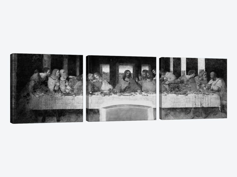 The Last Supper II by Leonardo da Vinci 3-piece Canvas Wall Art