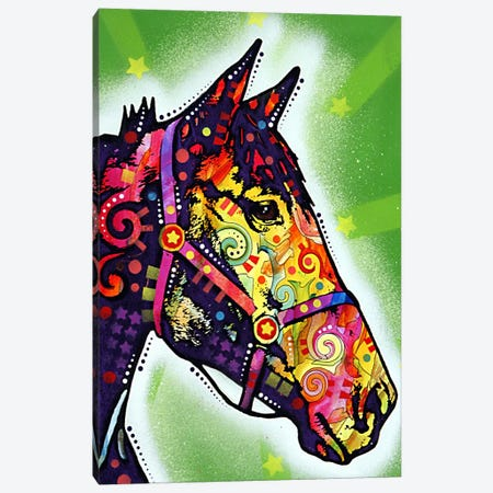 Horse Canvas Print #13556} by Dean Russo Art Print