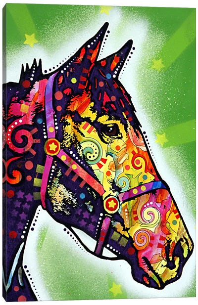 Horse Canvas Print #13556