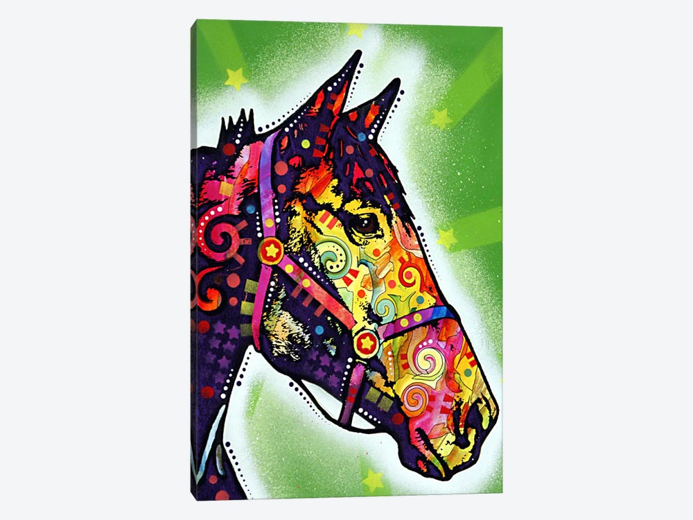Horse by Dean Russo 1-piece Canvas Art Print