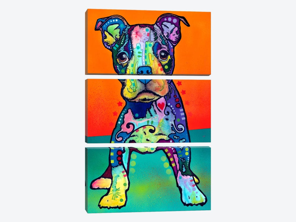 On My Own by Dean Russo 3-piece Canvas Artwork