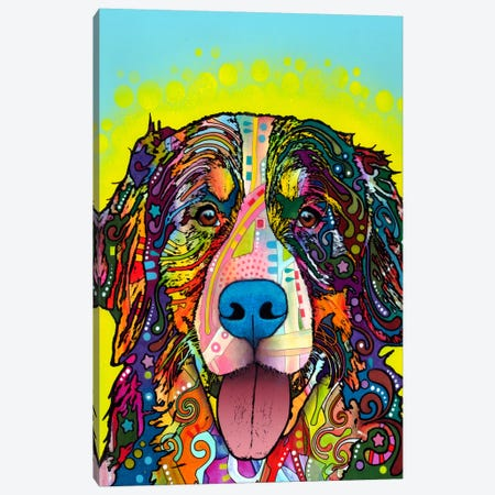 Bernese Mountain Dog Canvas Print #13559} by Dean Russo Canvas Art