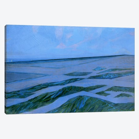 Dune Landscape, 1912 Canvas Print #13561} by Piet Mondrian Canvas Art Print
