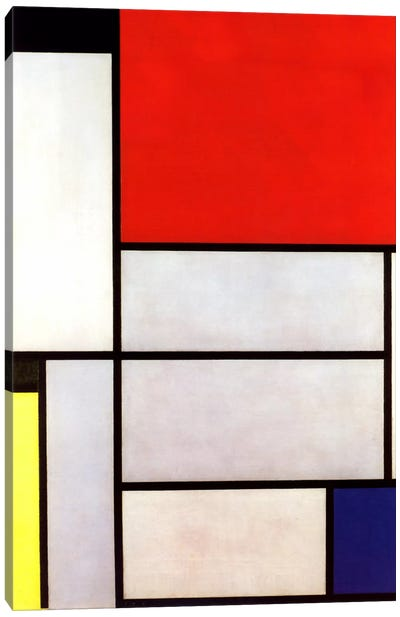 Tableau l, 1921 by Piet Mondrian Art Print