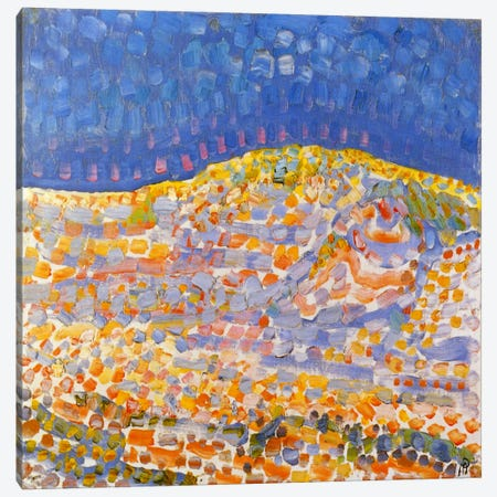 Dune ll Canvas Print #13580} by Piet Mondrian Art Print