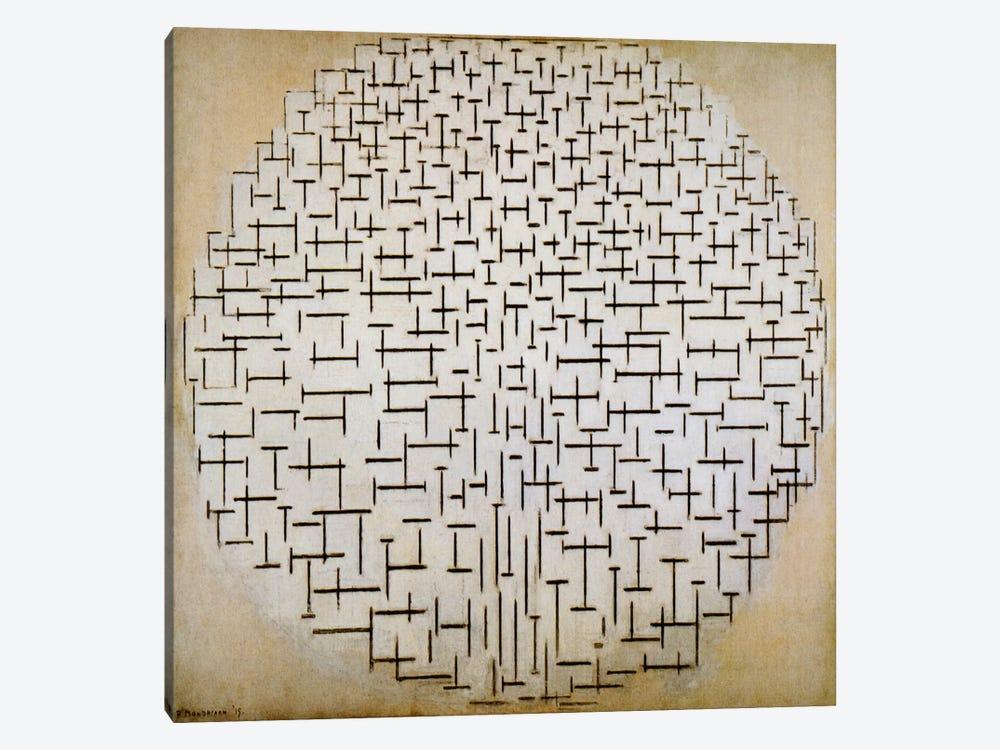 Pier & Ocean by Piet Mondrian 1-piece Art Print
