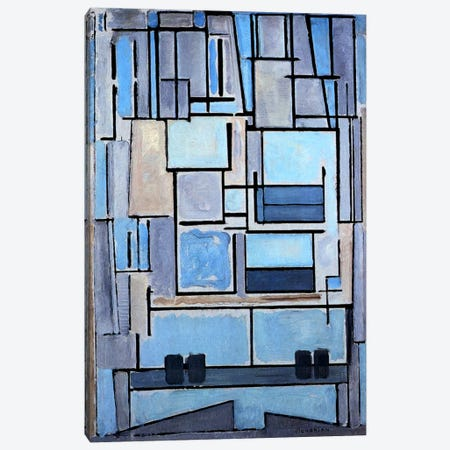 Composition No. 9, 1914 Canvas Print #13589} by Piet Mondrian Art Print