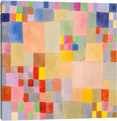 Flora on The Sand by Paul Klee Canvas Artwork