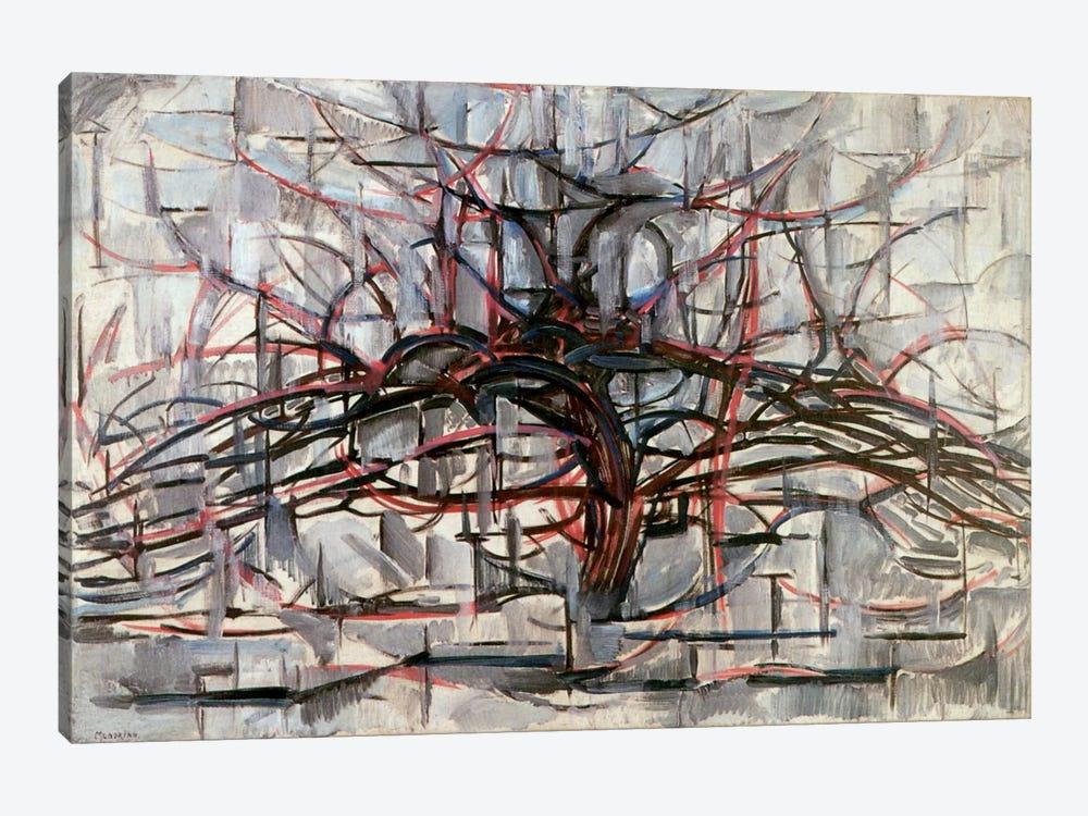 Tree, 1911 by Piet Mondrian 1-piece Canvas Print