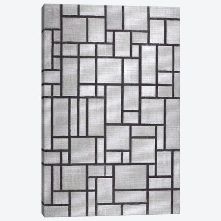 Composition in Gray, 1919 Canvas Print #13591} by Piet Mondrian Canvas Art