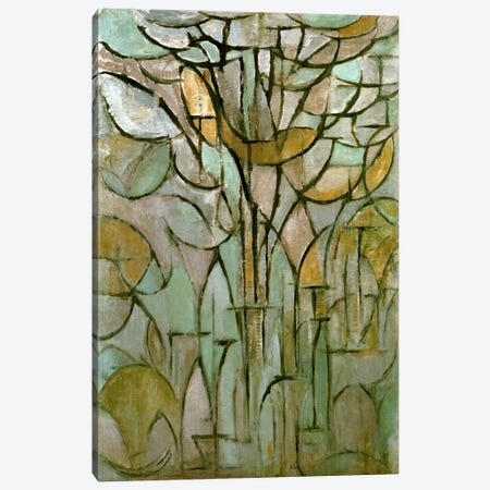 Tree, 1912 Canvas Print #13592} by Piet Mondrian Canvas Wall Art