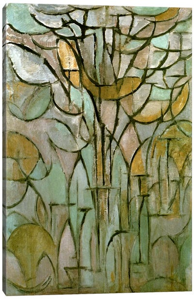 Tree, 1912 Canvas Art Print