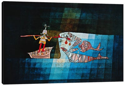 Sinbad The Sailor by Paul Klee Canvas Wall Art