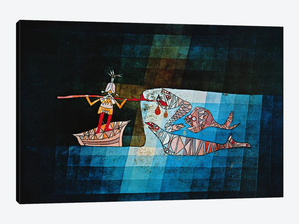 Sinbad The Sailor by Paul Klee 1-piece Canvas Art