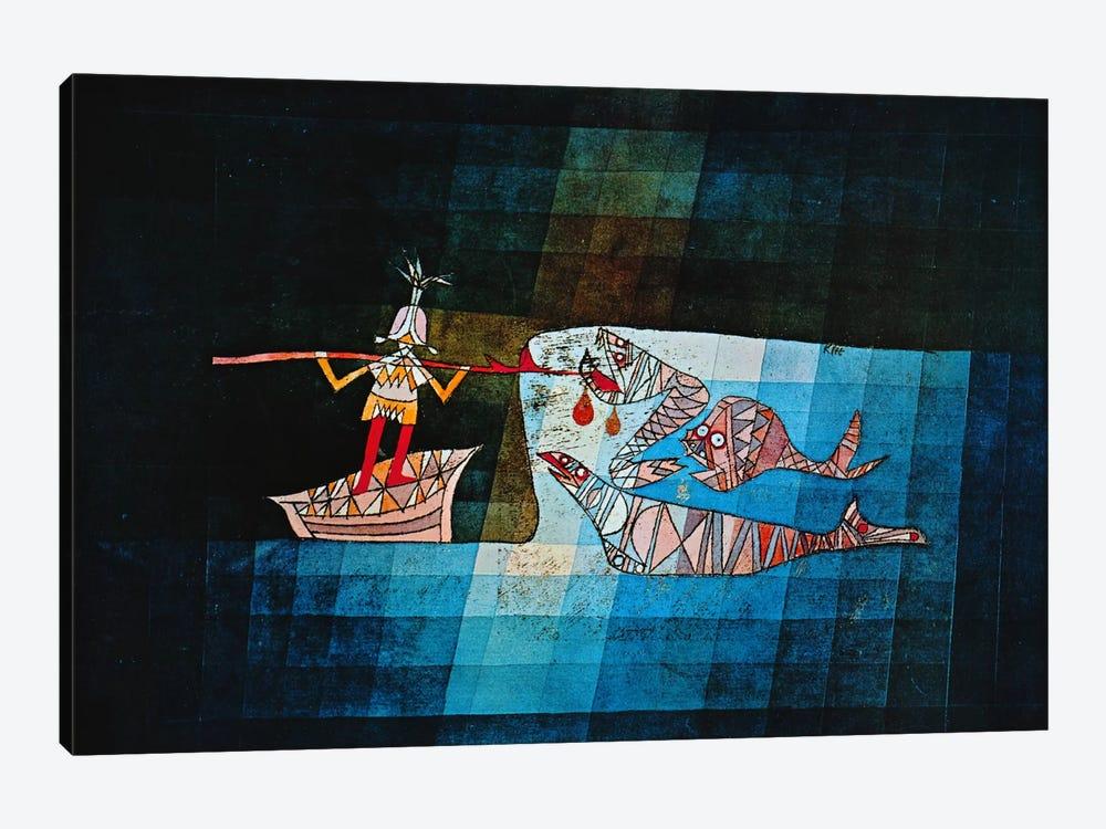 Sinbad The Sailor by Paul Klee 1-piece Canvas Art