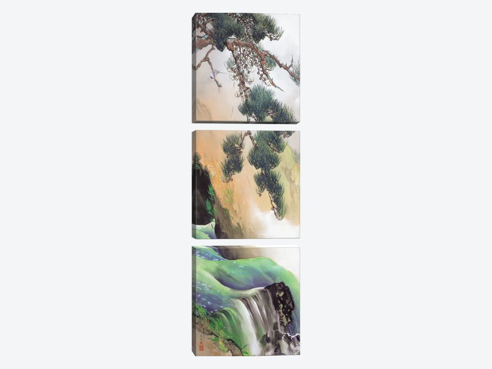 Spring of Mountain 3-piece Art Print