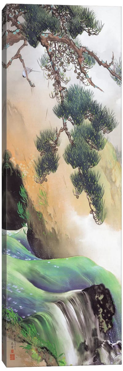 Spring of Mountain Canvas Art Print