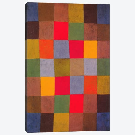 New Harmony Canvas Print #1362} by Paul Klee Art Print