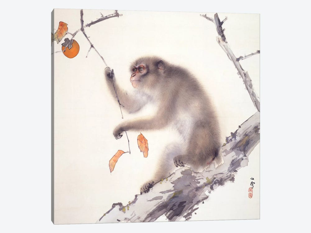 Monkey 1-piece Canvas Artwork