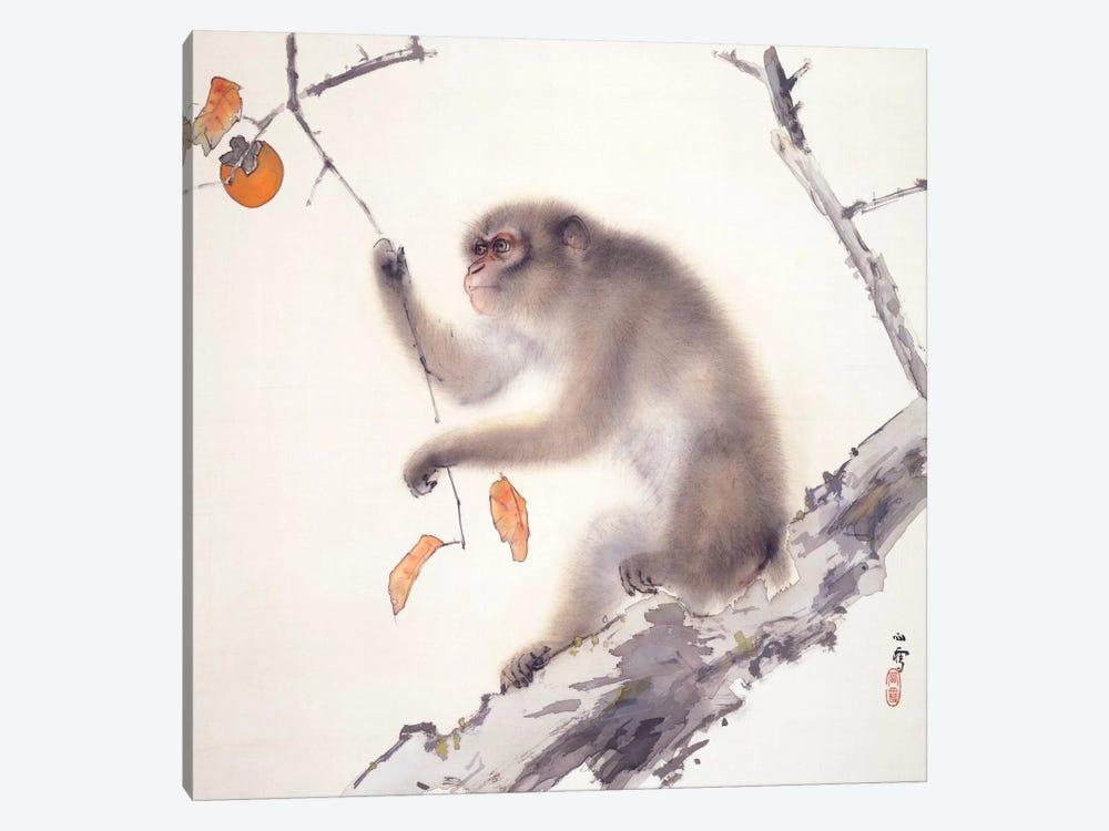 Monkey by Hashimoto Kansetsu 1-piece Canvas Artwork