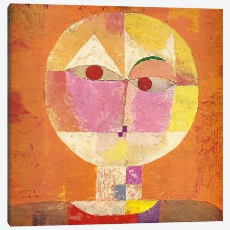 Senecio Canvas Print #1364} by Paul Klee Canvas Artwork