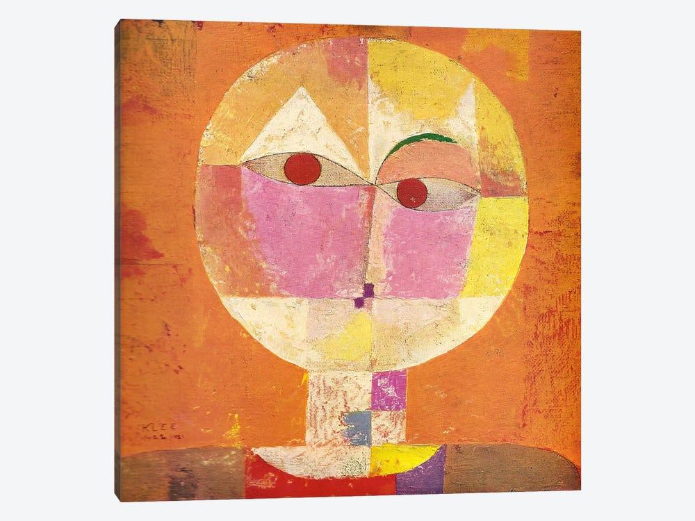 Senecio Canvas Artwork By Paul Klee Icanvas