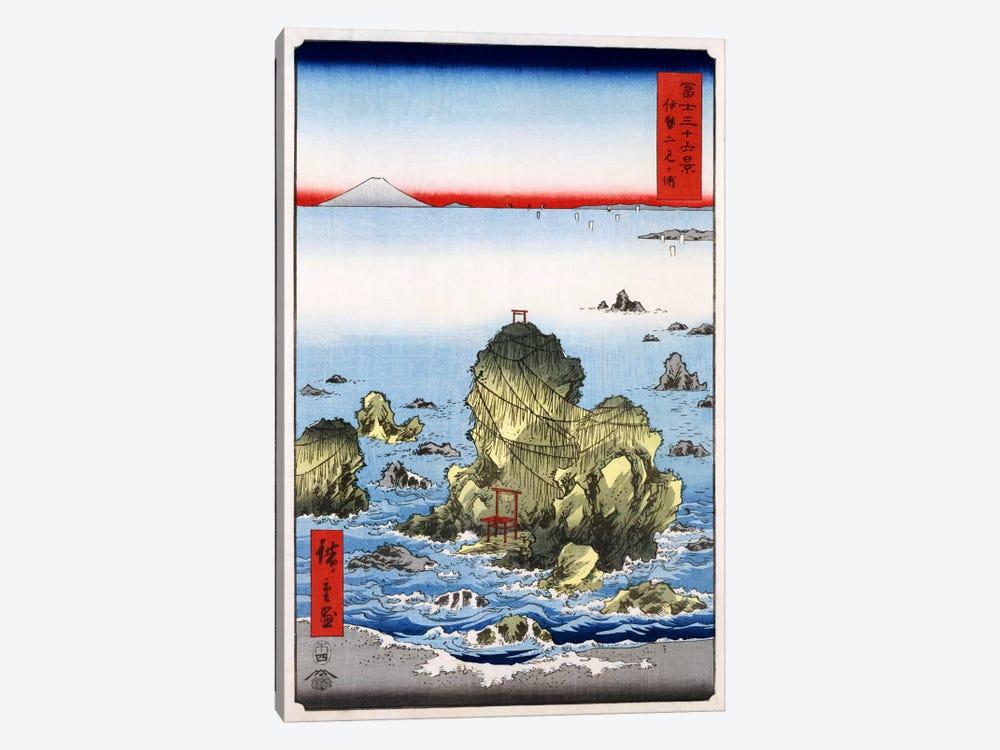 Ise Futami-ga-ura (Futami-ga-ura in Ise Province) by Utagawa Hiroshige 1-piece Canvas Wall Art