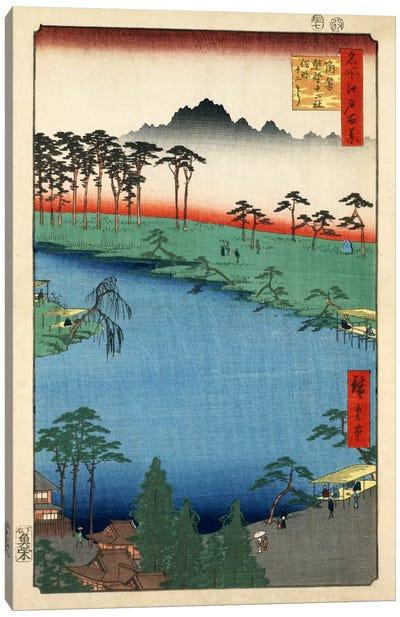 Tsunohazu Kumano Junisha zokusho Juniso (Kumano Junisha Shrine, Tsunohazu) Canvas Art Print