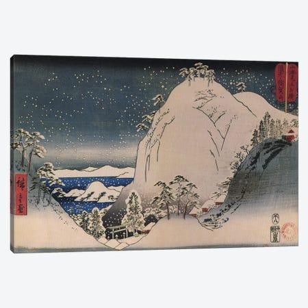 Bizen Yugayama (Mount Yuga in Bizen Province) Canvas Print #13657} by Utagawa Hiroshige Canvas Art