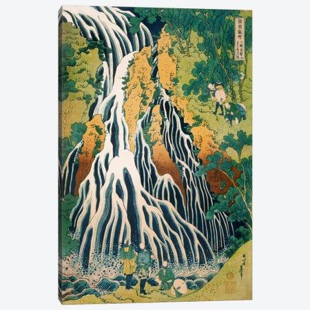 Kirifuri Waterfall on Mount Kurokami in Shimotsuke Province (Philadelphia Museum Of Art) Canvas Print #13691} by Katsushika Hokusai Art Print