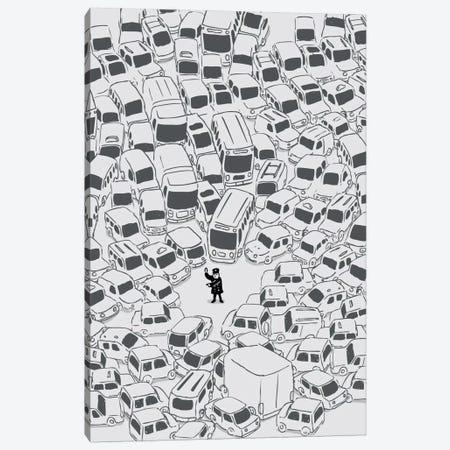 Its a Jam Mr. Police Canvas Print #13804} by Budi Satria Kwan Canvas Art Print