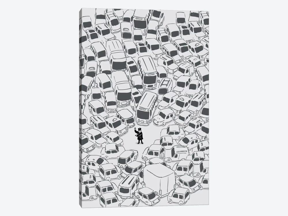 Its a Jam Mr. Police by Budi Satria Kwan 1-piece Canvas Art Print