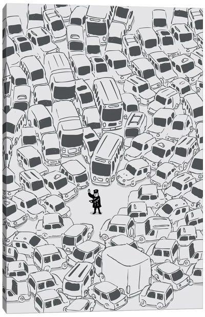 Its a Jam Mr. Police Canvas Art Print