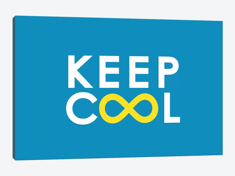 Keep Cool 1-piece Canvas Artwork