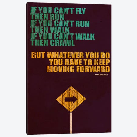 Keep Moving Forward Canvas Print #13808} by Budi Satria Kwan Canvas Art