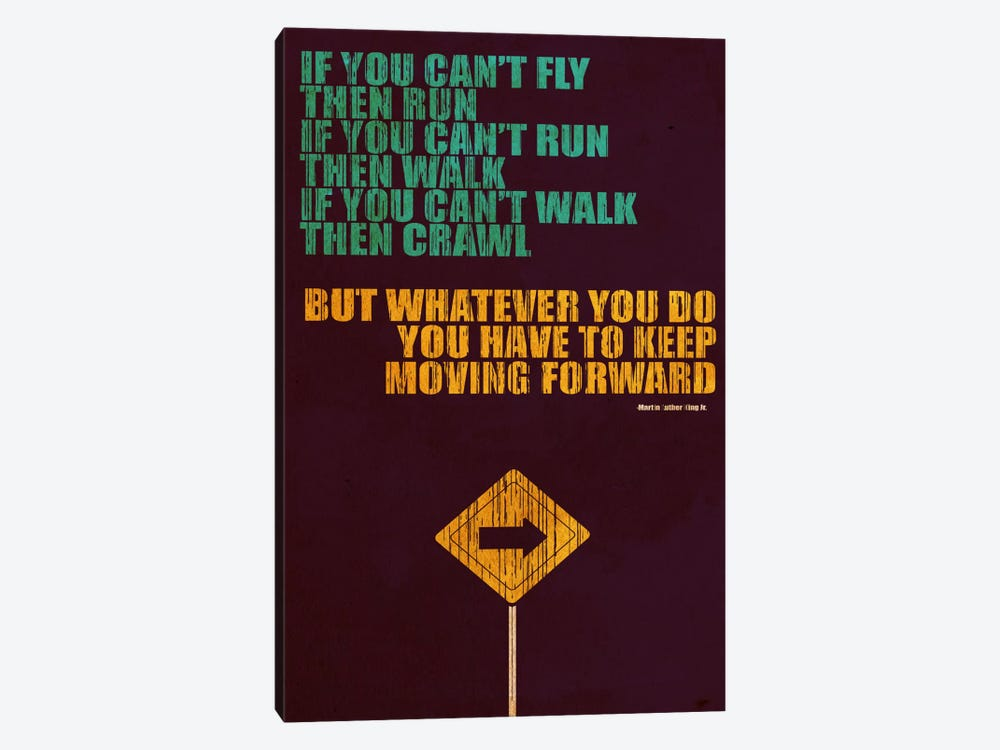 Keep Moving Forward by Budi Satria Kwan 1-piece Art Print