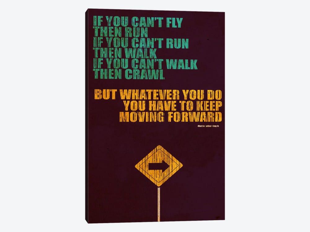 Keep Moving Forward by Budi Satria Kwan 1-piece Art Print