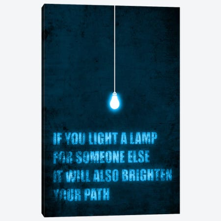 Light a Lamp Canvas Print #13809} by Budi Satria Kwan Canvas Art