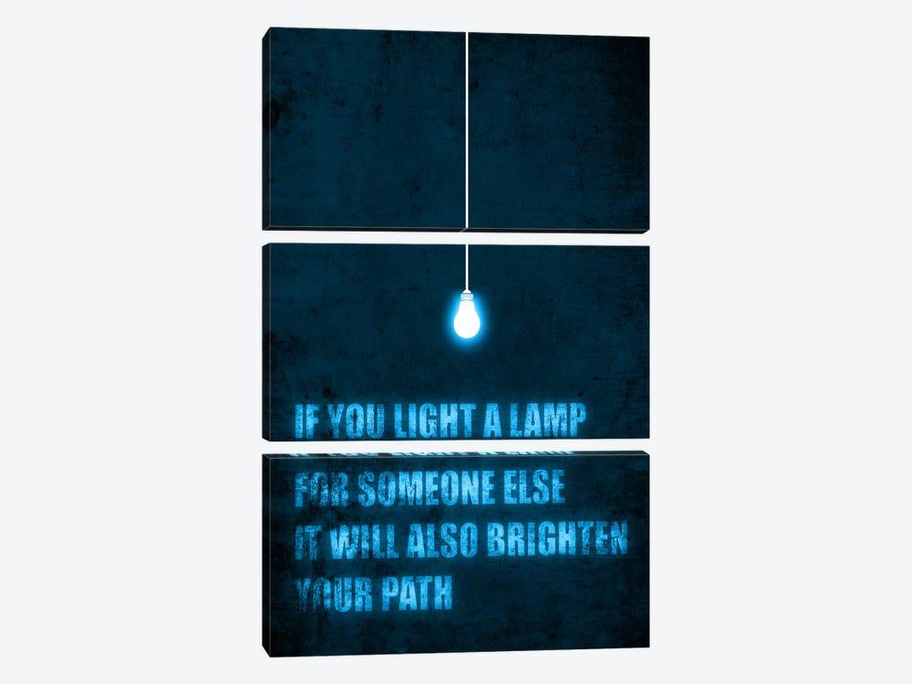 Light a Lamp by Budi Satria Kwan 3-piece Canvas Art