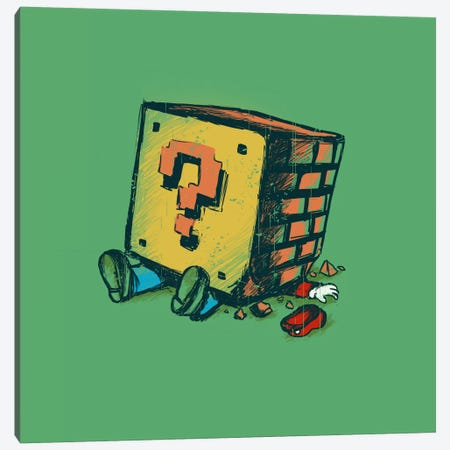 Loose Brick Canvas Print #13810} by Budi Satria Kwan Canvas Print