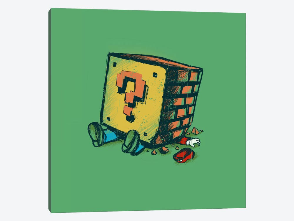 Loose Brick by Budi Satria Kwan 1-piece Canvas Artwork