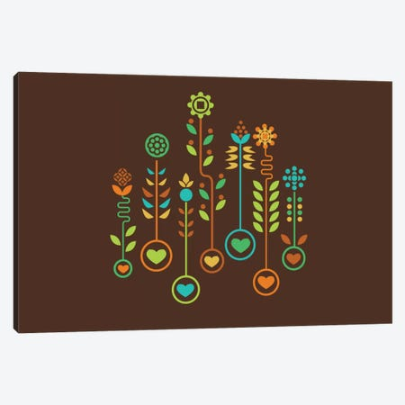 Love Garden Canvas Print #13811} by Budi Satria Kwan Art Print