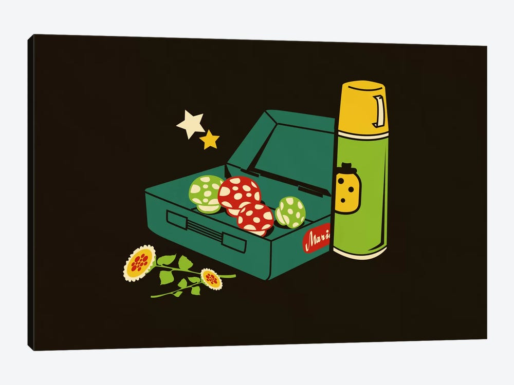 Lunchtime by Budi Satria Kwan 1-piece Canvas Art Print