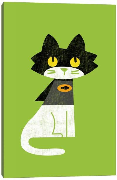 Mark Batcat Canvas Art Print