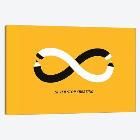 Never Stop Creating Canvas Print #13818} by Budi Satria Kwan Art Print